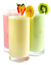 Best banana, Strawberry & Kiwi smoothies